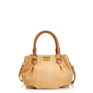 🦋SALE🦋 J. Crew 'Brompton' Straw Mini Hobo